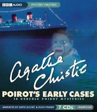 Agatha Christie Poirots Early Cases 18 Hercule Mysteries Audio Books On 7 CD Set
