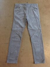 160/US 14-16 Hanna Andersson grey corduroy pants adjustable waist