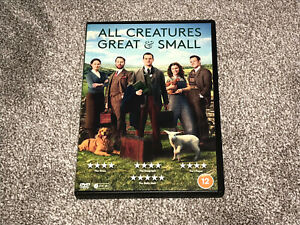 ALL CREATURES GREAT & SMALL : 2020 REMAKE SERIES 1 - DVD SET IN VGC (FREE UK P&P