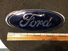 "Ford Oval Emblem - Deep Blue -9 in. X 3 1/2""  9a24402a16aa al34402a16aa Used"