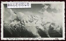 Chamonix . Plan Praz . glacier . photo anciennre . 1937