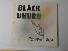 Black Uhuru-Positive Dub Vinyl LP 1987 ROOTS REGGAE DUB