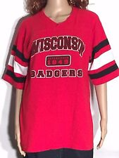Wisconsin Badgers Ncaa Big Ten 10 College Athletics Football Jersey Style Shirt