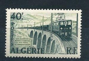 Algeria 1957 - Electric Train / Bridge  - 1v , Scott#283 , Yvert#340 - MNH **