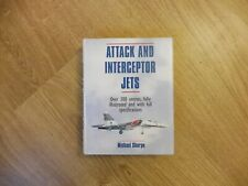 Attack And Interceptor Jets, Michael Sharpe, Like New