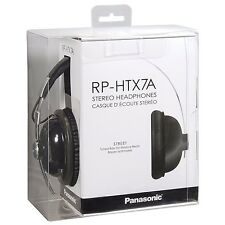 Monitor Retro Panasonic RP-HTX7 Auriculares Auriculares-Negro