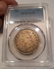 1831 50C Capped Bust Half Dollar PCGS Certified GRAND APPEAL Razor Sharp!