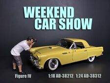 American Diorama 1:18 Scale Figure 10cm * Weekend Car Show Figure IV * AD-38212