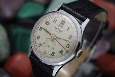 Vintage MEDANA Day Date Pointer Calendar 33mm Men's Dress Watch