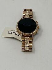 Fossil Q Venture HR Generation 4 DW7F1 40mm Stainless Steel Rose Gold Smartwatch