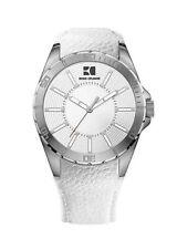 Runde Armbanduhren mit Edelstahl-Armband