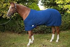 JMR chemise couverture polaire bleu navy pour cheval taille 135 cm *NEUF*