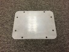 Jeep Wrangler Jk Tailgate Spare Tire Delete Plate 2007- Up Blank Plate