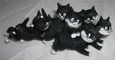 DUBOUT La Recree CAT PLAYTIME for 6 LITTLE CATS FIGURE Kitten Kittens Feline