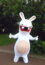 Rayman Raving Rabbids Mascot Costume Fancy Dress For Halloween Carnival Party A+