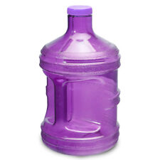 1 Gallon BPA FREE Reusable Plastic Drinking Water Bottle Jug Container - Purple