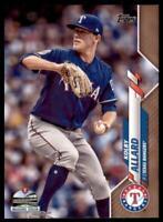 2020 Topps Series 2 Base Gold #639 Kolby Allard /2020 - Texas Rangers