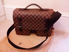 Louis Vuitton Discontinued Classic Styled Boardway Men's Messenger Bag