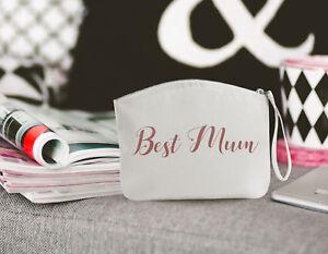 Best Mum Make up bag/Wristlet / Mothers Day Gift / Birthday / Present