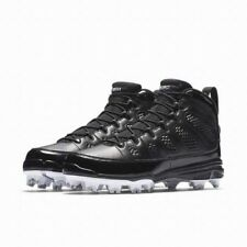 Jordan IX Retro MCS Mens Baseball Cleats 15 Black White