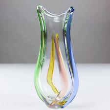 VTG Rhapsody Glas Vase 31 cm Frantisek Zemek Mstisov Sklo 50er 60er Jahre