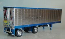 FIRST GEAR BLUE SILVER 40 FT SPREAD AXLE REEFER TRAILER 60-0618 T DCP