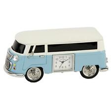 Wm.Widdop Miniature Clock Camper Van Blue