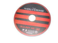 3D Movie Blu Ray THE WOLVERINE HUGH JACKMAN X-MEN 3D DISC ONLY **