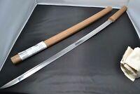 Katana Japanese antique sword Masahiro in Soshu Muromachi 500 years shirasaya