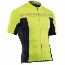 Northwave Evolution Cycling Jersey Black Yellow 2016 XL e3a2d657d