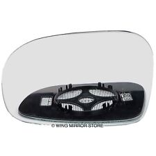 Right side mirror glass with clip for Mercedes Viano 04-09 Heated Aspherical
