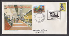 SOUVENIR COVER: 1980 HAND OVER CEREMONY RE USED FOR 150TH ANN IN 2004.