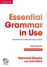 Essential Grammar in Use with Answers with CD-ROM Italian Edition: Grammatica di