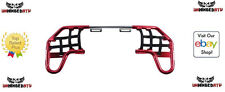 Tusk Comp Series Nerf Bars Red/Black Webbing Fits: Suzuki Z400 2003–2008