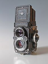 Rolleiflex 3.5F Type 3 Xenotar with Meter TLR Film Camera Worldwide Shipping