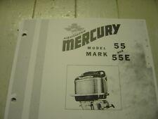 MERCURY OUTBOARD PARTS MARK 55 PARTS MANUAL