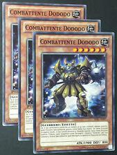Set 3X COMBATTENTE DODODO  LVAL-IT097 Comune in Italiano YUGIOH