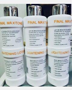 FINAL MAXITONE LIGHTENING LOTION 500ml