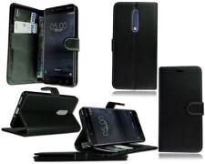 Per Nokia 3 5 6.1, 8.1 libro in pelle Portafoglio Stile di apertura Telefono Protezione Case Cover