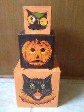 Bethany Lowe Sassy Cat Nesting Boxes--Retired