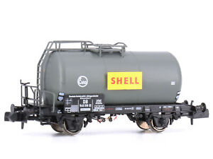 MU N-G40004 - Güterwagen Tankwagen Uerdingen Shell Epoche III - Spur N - NEU