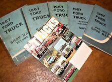 1967 67 Ford Truck Repair Manuals Service Books F-150 F-250 Bronco F150 F250 4X4