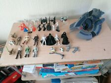 Rare Star Wars Job Lot Of Vehicles And Figures