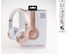 New listing Beats by Dr. Dre Solo3 Wireless Headband Headphones - Rose Gold