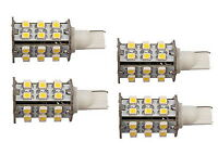 4x T10 Wedge Base 30 LEDs Bulb Replacement for # 194, 921 Trailer Camper Boat RV