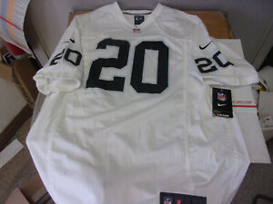 Nike NFL Players Darren Mcfadden #20 Oakland / Las Vegas Raiders Jersey Sewn #'s