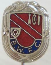 BOLTON WANDERERS Rare vintage club crest badge Maker S&E Stick pin 13mm x 18mm
