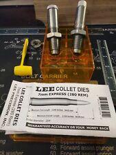Lee Precision Collet 2 Die Neck Sizer Set for 280 Rem 7mm Express