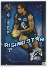 2011 Select Champions Rising Star Gem (RSG1) Chris YARRAN Carlton +++