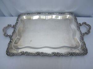 Vintage Plata Esterlina Industria Peruana Camusso 925 Silver Tray Platter
